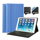 US For iPad 6th Gen 9.7 2018/2017/Air1 2/Pro Bluetooth Keyboard Stand Cover Case