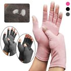 Sports Health Half Finger Recovery Therapeutic Compression Arthritis Gloves Rage $8.81 USD on eBay