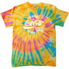 Coca Cola Original And Best White Text Women's Tie Dye T-Shirt $24.9  on eBay