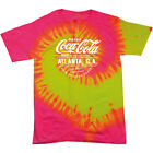 Coca Cola Atlanta GA White Text Women's Tie Dye T-Shirt $24.9  on eBay