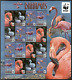 BAHAMAS 2012 BIRDS FLAMINGO FLAMINGOS WWF WILDLIFE SHEET MNH