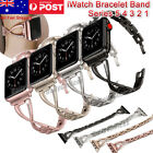 Stainless Steel Bracelet Iwatch Band Strap For Apple Watch Series 5 4 3 2  38 42