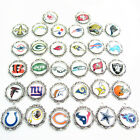 20pcs American Football Sports Glass Dangle Pendant Necklace Fans Jewelry Charms $8.99 USD on eBay