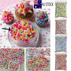Polymer Clay Fake Bread Sweet Simulation Sugar Sprinkles Phone Shell Decors DIY image