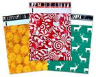 Fall, Winter, Christmas Theme Candy Cane, Pumpkin, Deer Poly Shipping Mailers