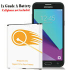 For Samsung Galaxy J3 Star J337T T-Mobile Extended Slim Battery 3700mAh /Charger