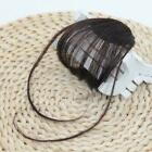 Neat Air Bangs Remy Extensions Clip in on Fringe Front Hairpiece Sell G4K4 günstig