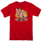 Betty Boop SURF BOARD Felix the Cat Licensed Adult T-Shirt All Sizes $42.72 AUD on eBay