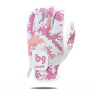 Pink Digital Mesh Golf Glove