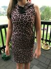 Material Girl Active NWT Leopard Hoodie Dress $39 #B007 $13.99 USD on eBay