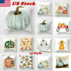 New Fall Halloween Pumpkin Pillow Case Waist Throw Cushion Cover Sofa Home Decor