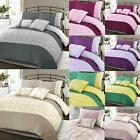 Embellished Embroidered Jones PinTuck Duvet Quilt Cover Single Double Super King