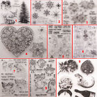 Flower Monster Transparent Silicone Clear Stamps DIY Scrapbook Embossing Girl