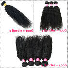 8-30inch 4 Bundles with Closure Unprocessed Brazilian Virgin Human Hair THICK US