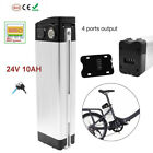 Bicycle Ebike lithium Battery 24V 36V 48V 12AH 10Ah 20Ah 1500W 350W 500W 1000W <br/> One year warranty,with charger, keys