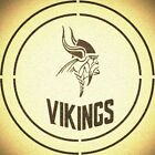 DOUBLE CIRLCE MINNESOTA VIKINGS w/ TEAM NAME STENCIL SPORT FOOTBALL STENCILS $13.07 USD on eBay