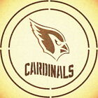 DOUBLE CIRLCE ARIZONA CARDINALS w/TEAM NAME STENCIL SPORT FOOTBALL STENCILS $10.47 USD on eBay