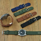 Military-Army Nylon Wrist Watch Band 18mm 20mm 22mm 24mm Replacement Strap OZP image