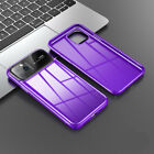 Applei Phone 11 Pro Max Pc+Glossy Tempered Glass Shockproof Slim Case Cover