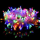 Waterproof Fairy Lights 20-1000 LED Clear Cable for Christmas Tree Outdoor Party