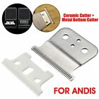 Replacement Silver Blades For Andis GTX Adjustable T-Outliner Beard Hair Trimmer