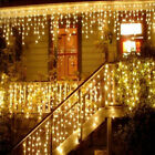 Christmas lights outdoor decoration led curtain icicle string lights new year