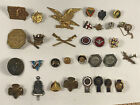 Vintage Pinback YOU CHOOSE pin badge antique military