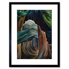 Carr Forest In British Columbia' Framed Art Print 9x7 Inch