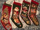 I HAVE LOTS OF STOCKINGS! - SFERRA  Needlepoint Christmas Stocking YOU PICK