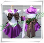 USA Anime Sailor Moon Costume Cosplay Uniform Fancy party Dress Gloves Halloween