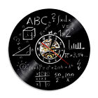 Science and engineering mathematical equation  3D Art Deco Classic Wall clock