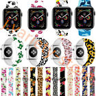 Sport Silicone Strap Wristband For Apple Watch Band Series 5/4/3/2 38/42/40/44MM
