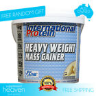 Heavy Weight Mass Gainer 4kg International Protein Serious Mass Bulk WPC/WPI
