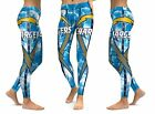 Los Angeles Chargers Leggings Small-XXL (0/2-14) Football LA Bolts Blue Cali $30.69 CAD on eBay