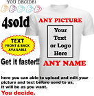 Personalised T-shirt Your Image Printed Stag Hen Custom Photo Party Tee shirt DT