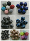 10-20 x Disco Beads. 10-28mm. Various Colours. UK Seller. Jewellery/Craft Making