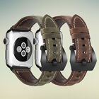 Genuine Leather Band for Apple Watch iwatch Series 5/4/3/2/1 38mm 40mm 42mm 44mm image