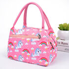 US Adults Women Girls Portable Insulated Lunch Bag Box Picnic Waterproof Tote