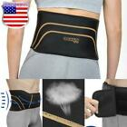 Copper Fit Back Brace Adjustable Compression Lower Lumbar Support Belt S/M L/XL