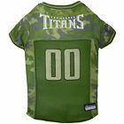 Pets First Tennessee Titans Camo Jersey $27.99 USD on eBay