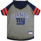 Pets First New York Giants Hoodie Tee Shirt For Dogs $19.59 USD on eBay
