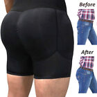 Mens Padded Enhancer Underwear Shapewear Butt Lifter Boxer Briefs Trunks Shaper