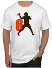 Baker Mayfield T-Shirt - SUPERSTAR Cleveland Browns NFL Uniform Jersey #6 $19.99 USD on eBay