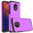 For Motorola Moto Z4 /Z3 Play Case Shockproof Armor Cover With Screen Protector