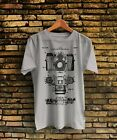 1962  Photographic Camera Patent Prints Art Vintage T-shirt Made in USA image