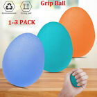 Hand Finger Grip Egg Ball Strength Trainer For Physical Stress Relief Therapy US image