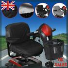Mobility Scooter Full Seat Cover Waterproof Elasticated Electric Wheelchairs UK