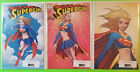 Supergirl #1 SDCC Michael Turner A B C Set NM 3 Cover Lot DC 2017 image