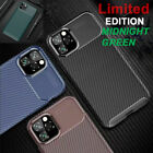 CARBON case For iPhone 11 Pro Max Soft Silicone Ultra Slim Shockproof TPU Cover