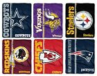 NFL Raschel Restructure 50x60 Blanket - Pick Your Team! $32.99 USD on eBay